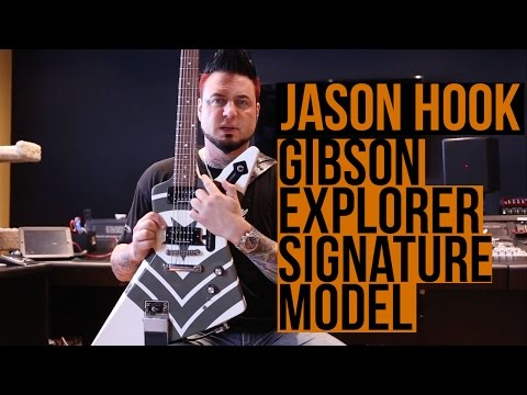 Five Finger Death Punch - Jason Hook on his Gibson Explorer Signature