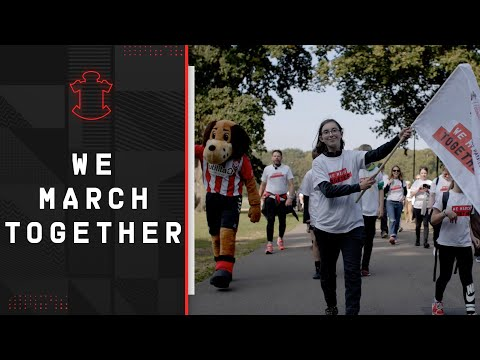 SAINTS FOUNDATION: We March Together charity walk