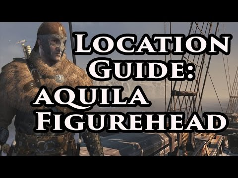 Aquila Figurehead Blueprint | Location | Assassin's Creed Rogue | Xbox 360