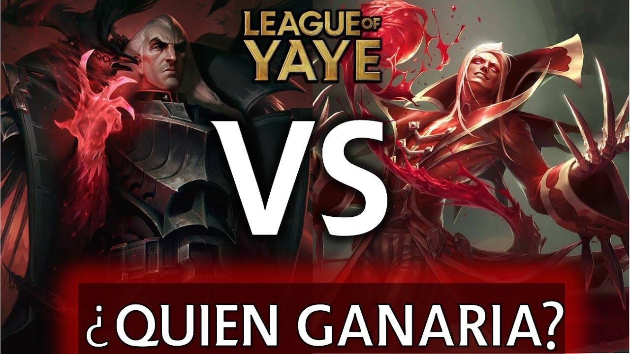 Swain vs Vladimir ¿Quién ganaría? // 1 vs 1 según el Lore