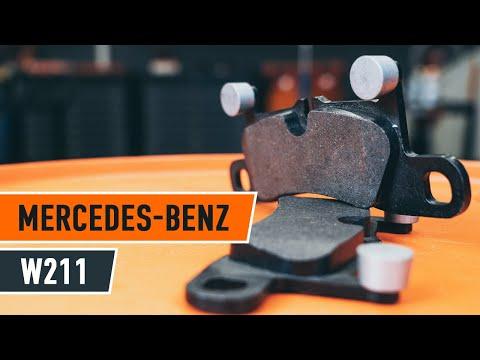 Cambio pastiglie freni anteriori MERCEDES-BENZ E W211 TUTORIAL | AUTODOC