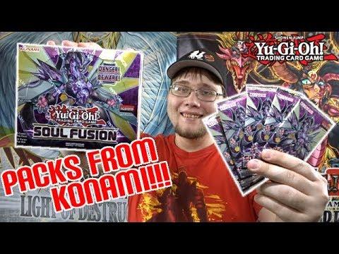 *NEW!* Yu-Gi-Oh! Soul Fusion Unboxing   KONAMI SENT ME PACKS!!!