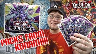 *NEW!* Yu-Gi-Oh! Soul Fusion Unboxing | KONAMI SENT ME PACKS!!!