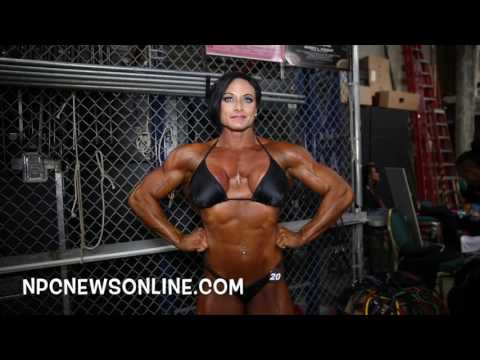 2016 NPC Nationals Women's Bodybuilding Backstage Video