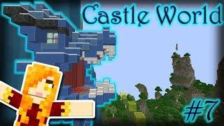 DRAGON FIRE PARKOUR! - Castle World - Episode 6
