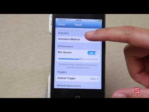 [iPhone - Cydia App] Ứng dụng Deck - Thêm thanh dock tiện tích cho iPhone - CellphoneS