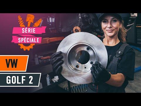 Comment remplacer des disques de frein avant sur VW GOLF 2 [TUTORIEL AUTODOC]