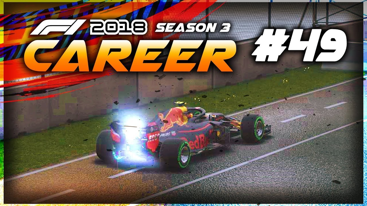 b31fe65a421 F1 2018 Career Mode Part 49  THIS BLOWS BOTH CHAMPIONSHIPS WIDE OPEN ...