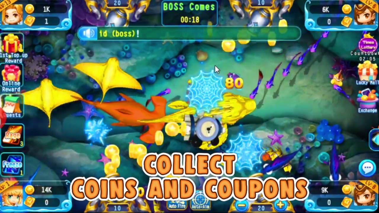Mancing Ikan 3d Arcade Fishing Go Hadiah Gratis Youtube
