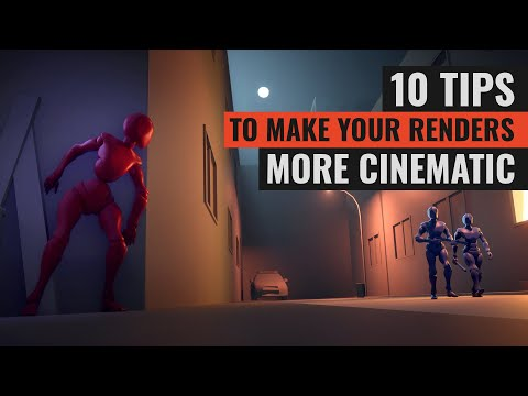 10 Tips To Make Your 3D Render More Cinematic