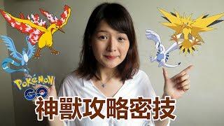 日本寶可夢玩家教你火焰鳥、閃電鳥怎麼抓!神獸入手攻略