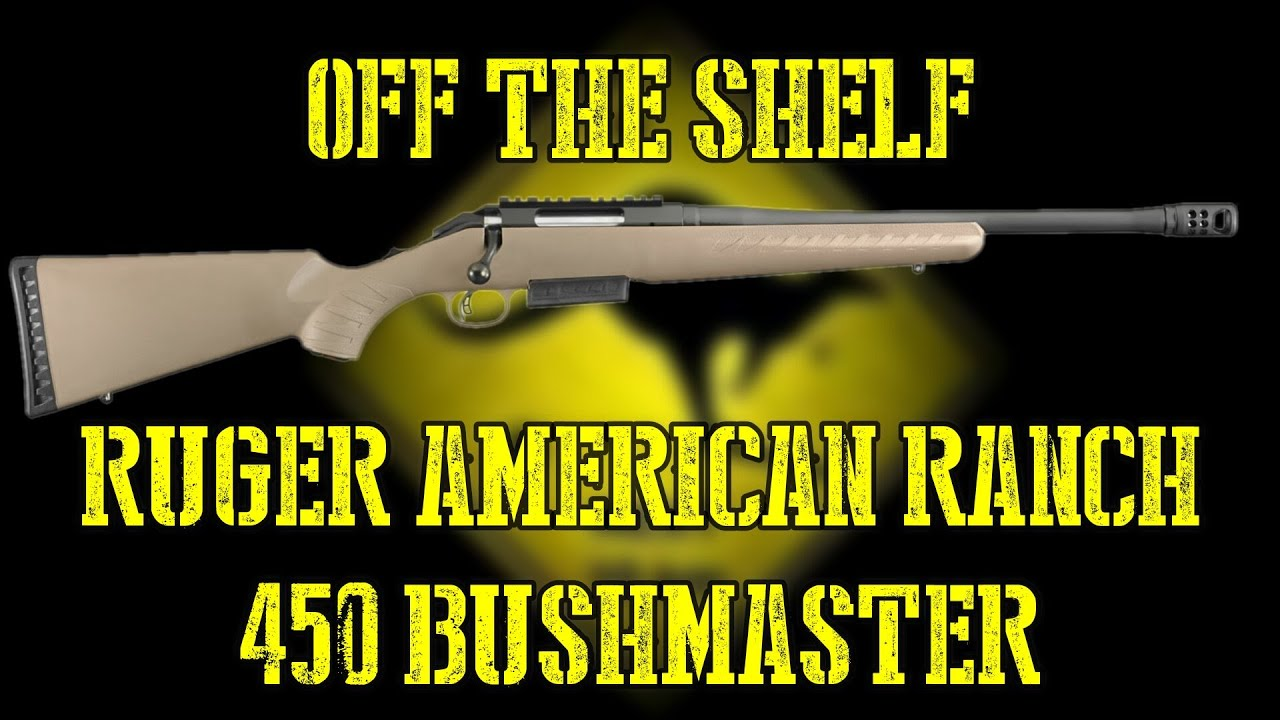 Ruger American 450 Bushmaster - Off The Shelf