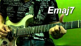bebebe tuning lesson 03 emaj7 chords