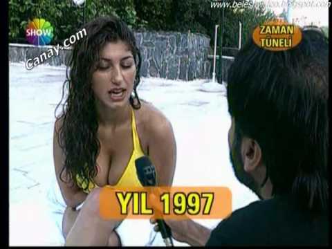Nadide Sultan Büyük Göğüs Show Bikini Show [ 105 Cm Göğüs ]