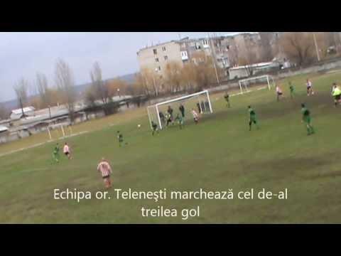 Finala la fotbal a raionului Telenesti 2013