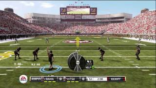 NCAA Football 12 Gameplay Alabama at Florida State Full Game Heisman Difficulty