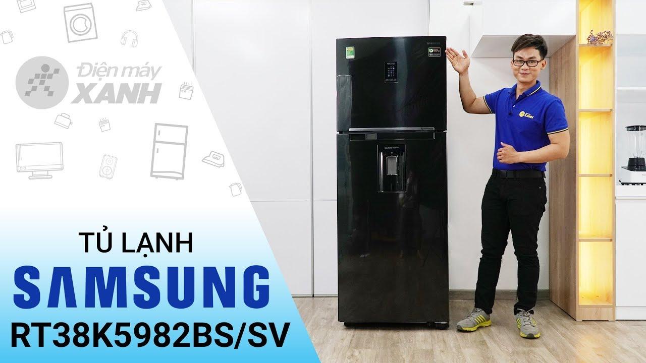 Tủ lạnh Samsung Inverter 382 lít RT38K5982BSSV: mạnh mẽ đến bất ngờ • Điện máy XANH