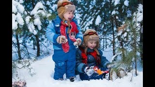 First Time Snow for the kids #familyinmotion