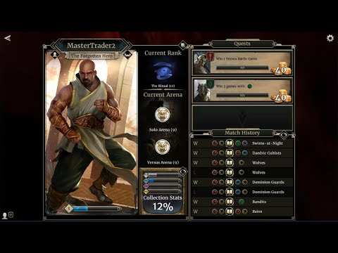 Elder Scrolls Legends How To Change Race Or Profile