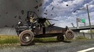 Сумасшедший водитель. Приколы в Battlefield 2