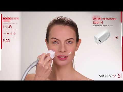 LPG массажер Wellbox S инструкция: Процедуры для выведения токсинов из кожи.