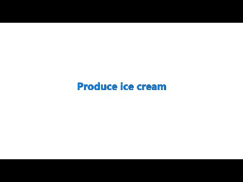 HM766C  vending ice cream machine :2 flavour+mix with 3 topping and 3 sauce