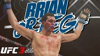 BRIAN T CITY ORTEGA In EA Sports UFC 3 Ranked Gameplay Fighter Request