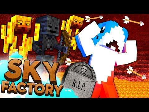 Minecraft Sky Factory - DEATH RUN #12