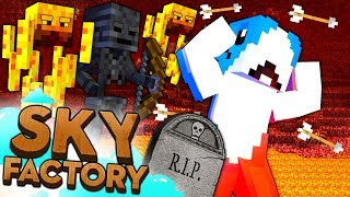Minecraft Sky Factory - DEATH RUN #12