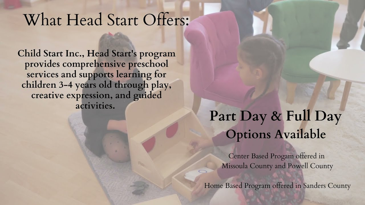 Discover What Child Start Inc., Head Start Offers