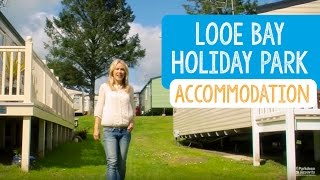Looe Bay Holiday Park Accommodation, Cornwall