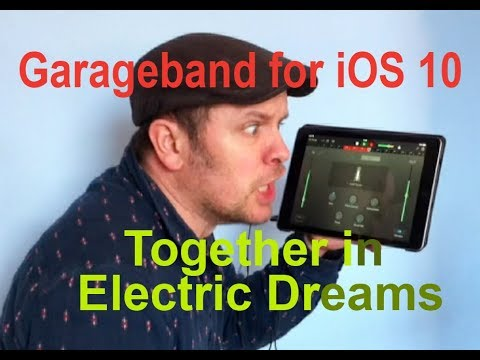Garageband on iPad for iOS 10 / 11: