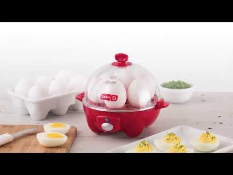 Dash Rapid Egg Cooker Review! Dash Rapid Egg Cooker: 6 Egg Capacity Electric Egg Cooker!+ #Dash