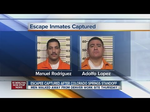 2 Escaped convicts captured in Colorado Springs