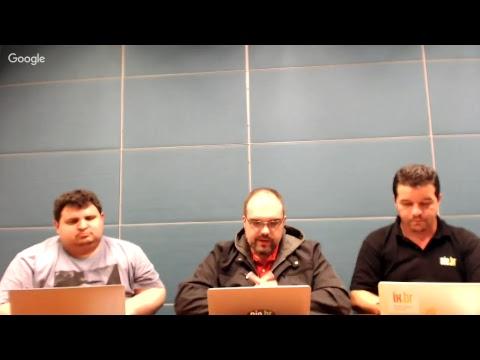 Communities no IX.br e outros assuntos - Hangout ao vivo