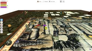 "Tabletop Simulator ""Dungeons and Dragons"" Gameplay"