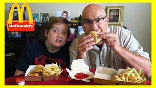 mcdonalds fresh beef burger