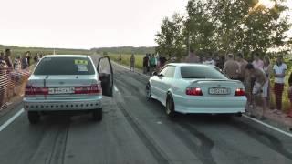 Toyota Vista - Toyota Chaser  драг рейсинг в Ангарске 2 заезд