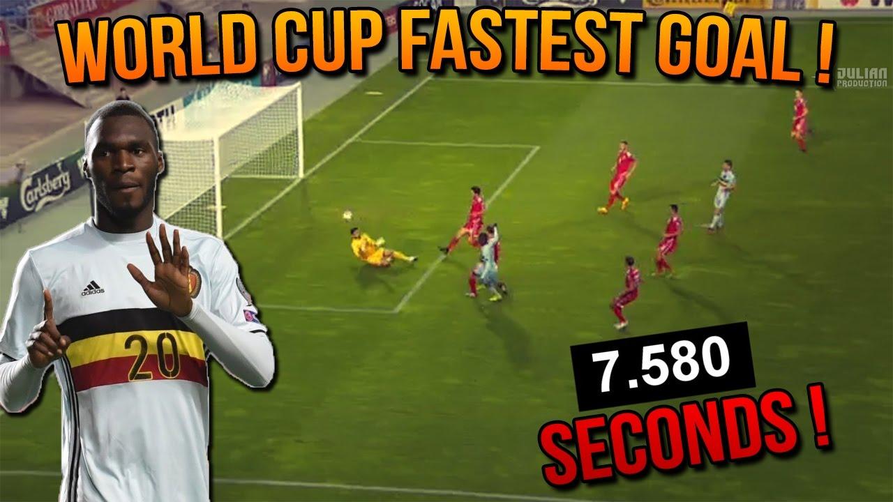 Kết quả hình ảnh cho fastest goal in world cup