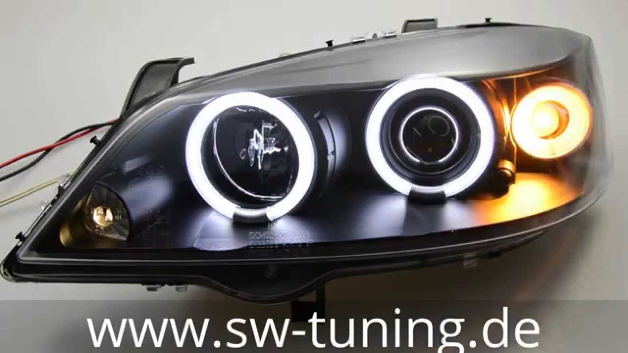 Bmw e38 angel eyes installation-6339