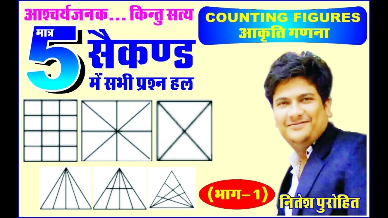 Best Trick for Counting Figures Reasoning | PART 1 | Solve करे 5 सेकंड में,  NP EDUCATION