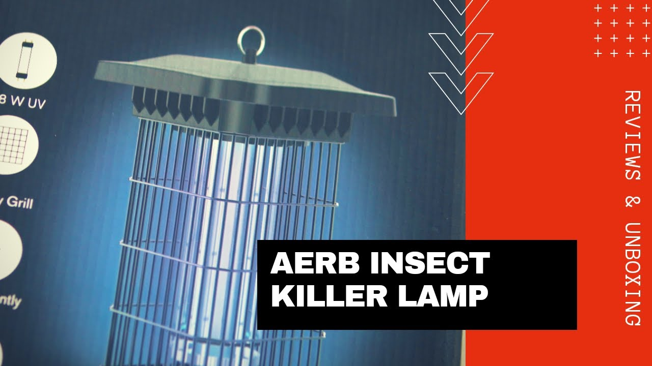 Aerb Insect Killer Lamp | Unboxing and quick look