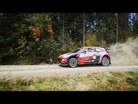 Craig Breen & Paul Nagle pre-event test Rally Finland 21.09.2021