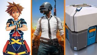 Kingdom Hearts 3 WHEN? + PlayerUnknown's Battlegrounds RANSOMWARE + $1 Million Loot Box Fine