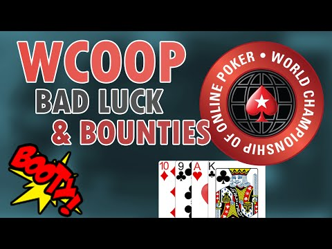 WCOOP Super Tuesday & Omaha bounty hunting (tonkaaaap stream highlights)