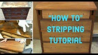 DIY Furniture Refinishing | How To Strip Wood Furniture