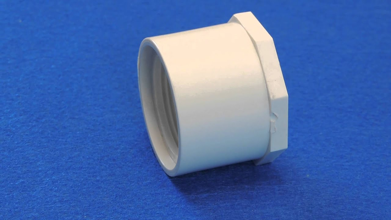 Reducer Bushing For Schedule 40 Pvc Pipe Spig X Fipt