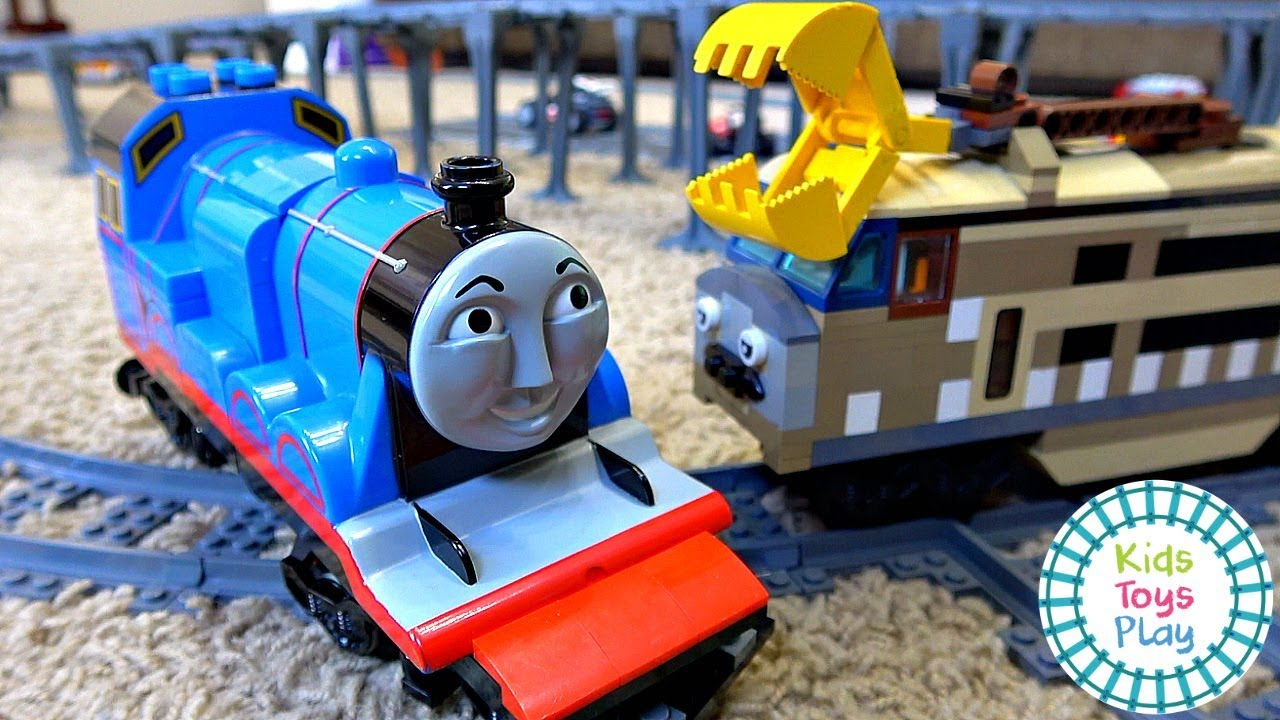 Thomas and Friends Lego Great Race Gordon vs Spencer