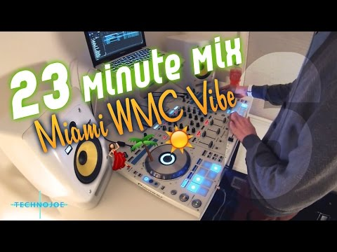 Pioneer DDJ SX - Deep house and Garage DJ mix - Winter Music Conference