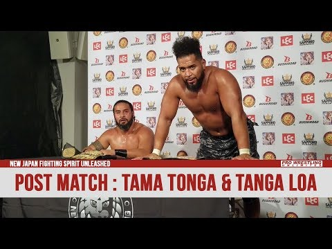 New Japan Fighting Spirit Unleashed Post Match Interview: Ta